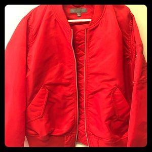 Uniqlo Red Bomber Jacket